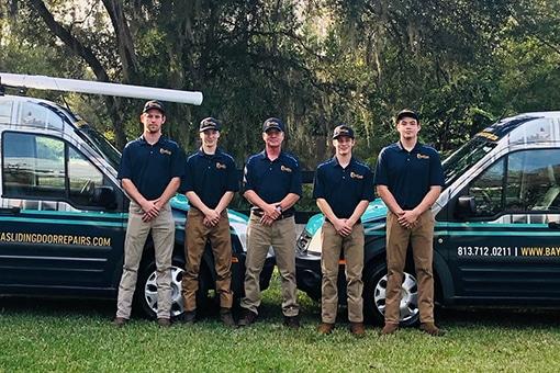 Outside Pic of Sliding Door Repair Team the Services San Antonio FL